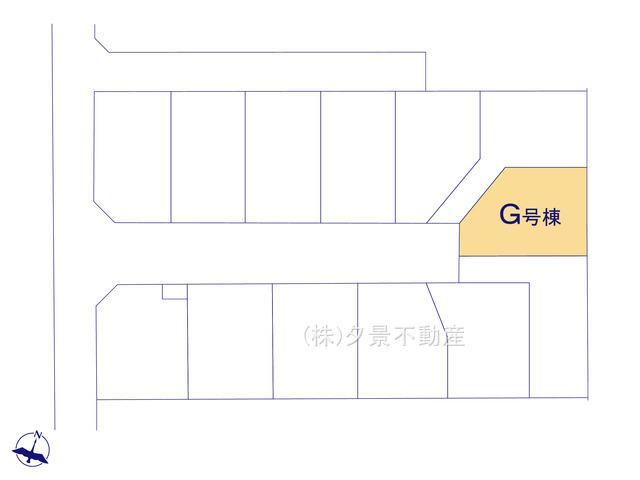 【区画図】桜区大字白鍬99-9(G号棟)新築一戸建てハートフルタウン