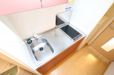 キッチンスペースが広いので自炊する方におすすめ!