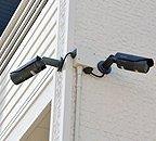 防犯カメラ設置。同タイプの物件写真となります。