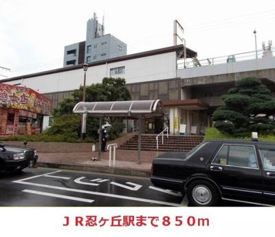 JR忍ケ丘駅まで850m