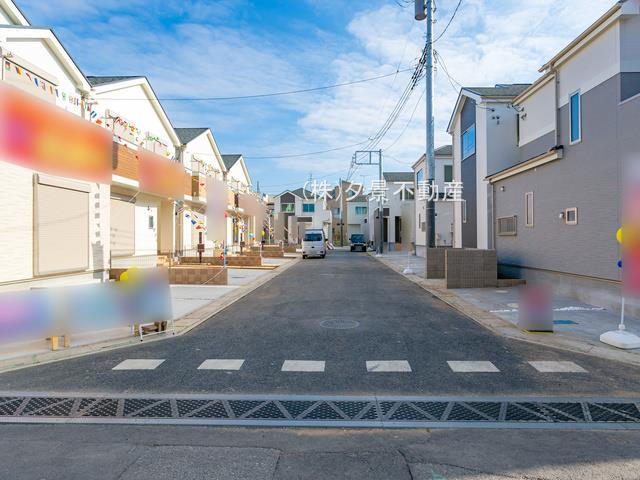 【外観】桜区大字白鍬99-12(J号棟)新築一戸建てハートフルタウン