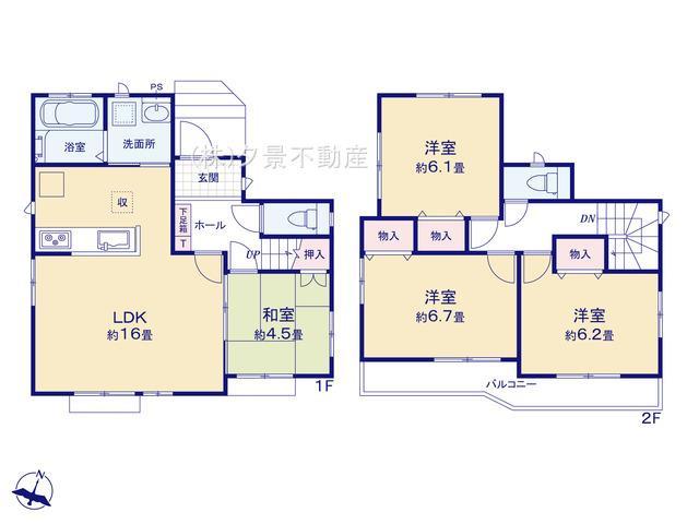 桜区大字白鍬99-12(J号棟)新築一戸建てハートフルタウン