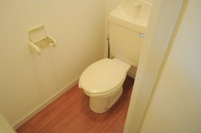 独立したトイレで快適な空間に