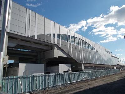 東武伊勢崎線新伊勢崎駅まで870m