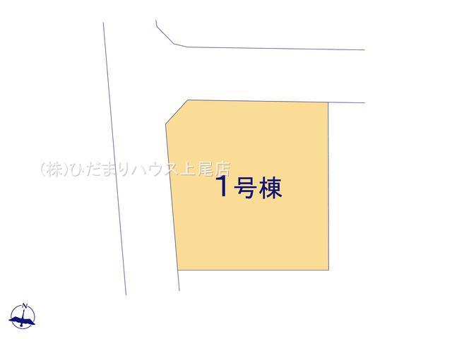 【区画図】上尾市上 3期 新築一戸建て リーブルガーデン 01