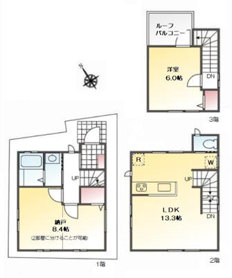 【外観】❖無駄のないコンパクト住宅♪生活利便施設充実☆ライフステージに合わせて住まいを変化☆ルーバル付❖