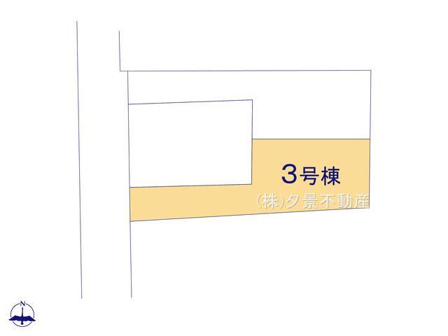 【区画図】浦和区領家6丁目13-4(3号棟)新築一戸建てケイアイスタイル