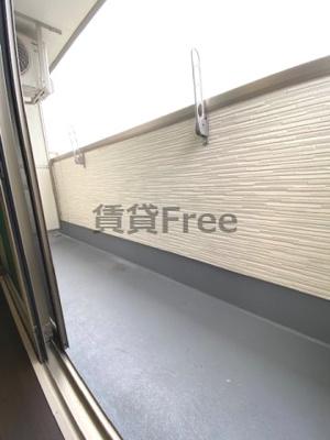 【バルコニー】フジパレス新深江Ⅶ番館 仲介手数料無料
