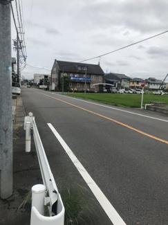 【前面道路含む現地写真】57126 羽島郡岐南町野中土地