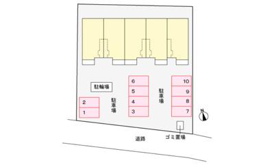【区画図】ヴィラパライーソ3(ヴィラパライーソスリー)