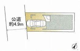 【区画図】世田谷区中町5丁目 新築戸建