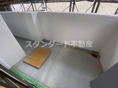 【バルコニー】セレニテ京橋クレア