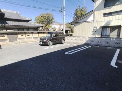 【駐車場】倉賀野駅 倉賀野町 1DK 1階