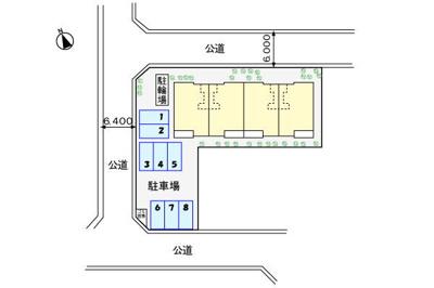 【区画図】キャッスル大和(キャッスルヤマト)