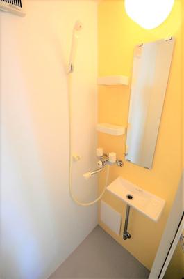 シャワーでさっぱり☆