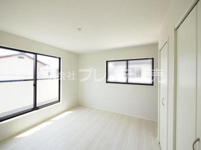 現地写真(2号地2階居室)全室南向きですので、陽あたり良好です♪