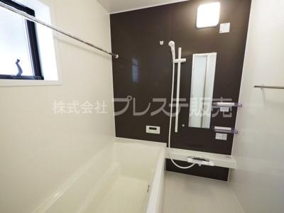 現地写真(2号地浴室)浴室暖房乾燥機を標準装備!