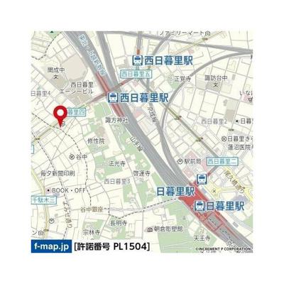 【地図】アプレパークス道灌山通