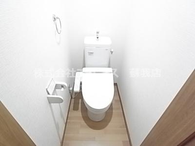 【トイレ】白百合