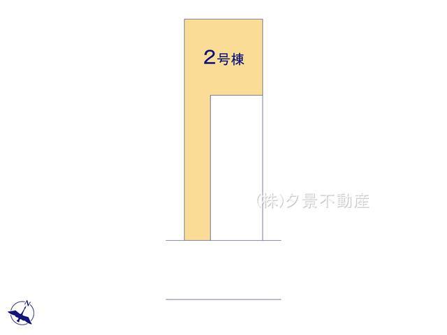 【区画図】川口市戸塚東3丁目34-27(2号棟)新築一戸建てリーブルガーデン