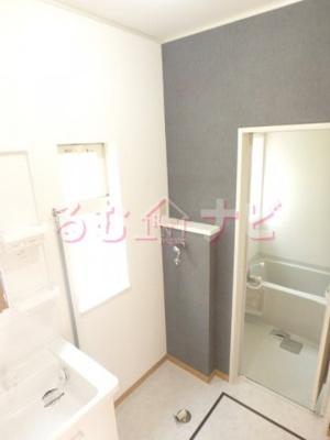 【浴室】メゾネットきさらぎB棟