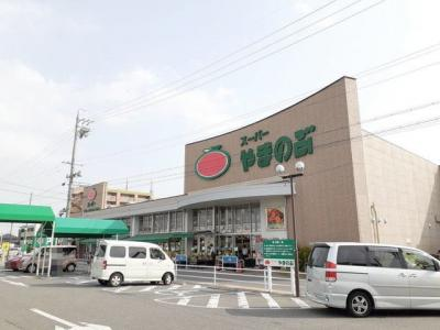 スーパーやまのぶ 矢作店まで1500m