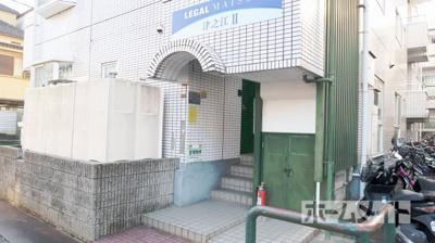 【エントランス】LEGAL MAISON津之江Ⅱ
