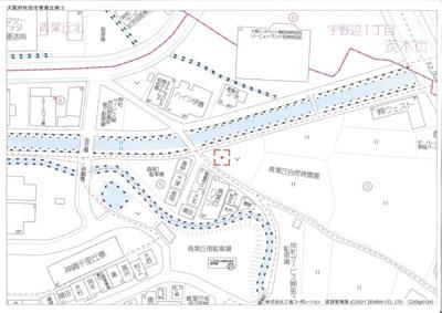 【地図】リブシャイン青葉丘南