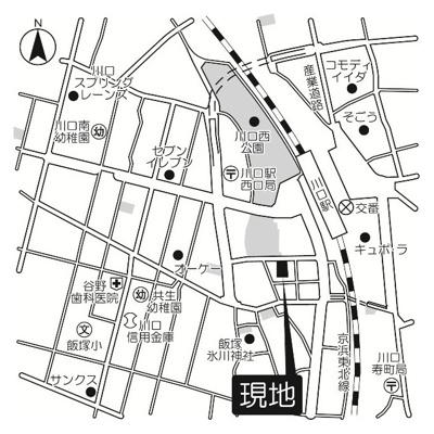 【地図】ネクス川口