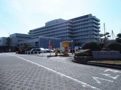 富山市民病院まで1900m