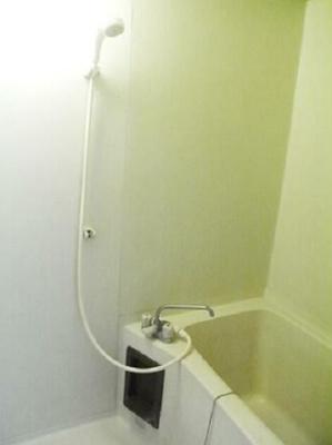 【浴室】池尻ハイム 2人入居可 ルームシェア相談可 南向き