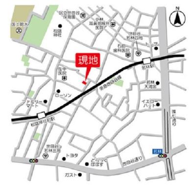 【周辺】ウェルスクエア若林 築浅 駅近 独立洗面台 バストイレ別