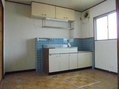 【キッチン】阿久根マンション