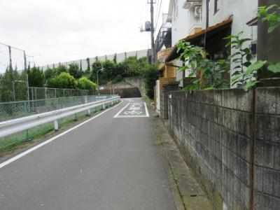 【前面道路含む現地写真】坂戸市浅羽野売地
