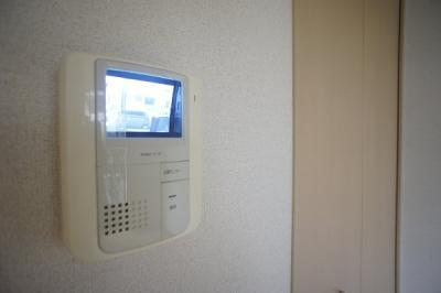 TVモニタ付インタホン♪