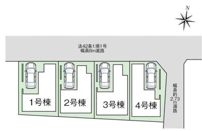 【区画図】ファーストタウン大阪市第3東成区大今里
