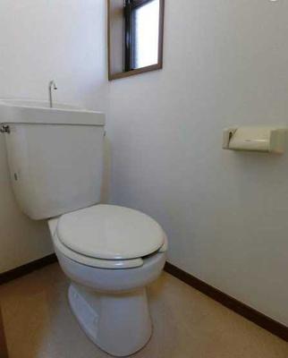 【トイレ】サンハイツ 敷金0礼金0 独立洗面台 バストイレ別 南西向き