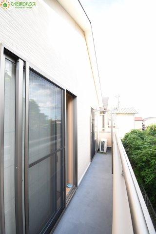 【バルコニー】上尾市富士見1丁目 中古一戸建て