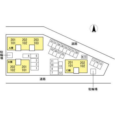 【区画図】グランフェリオ C棟