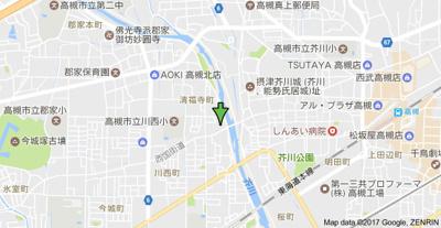 【地図】ハイツサニーパル (株)Roots