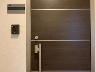 シンプルで使いやすい玄関です同型タイプ
