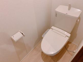 清潔感のあるトイレです同型タイプ