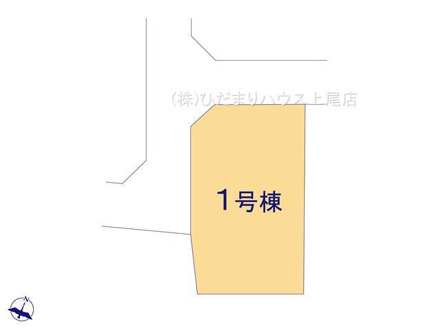 【区画図】伊奈町本町 第3 新築一戸建て リーブルガーデン 01