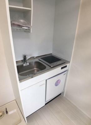 火を使わず安全に調理できるIHキッチン。