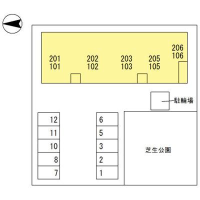 【区画図】セジュール南瀬戸
