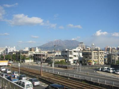 桜島が近くに見えます♪