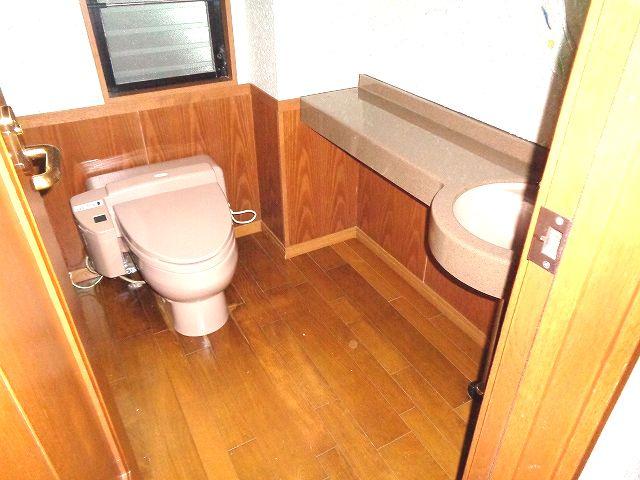 【トイレ】南区柏原2丁目戸建