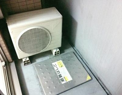 【バルコニー】ライズコート東京イースト