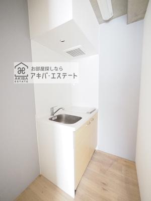 【キッチン】フィオーレ日暮里