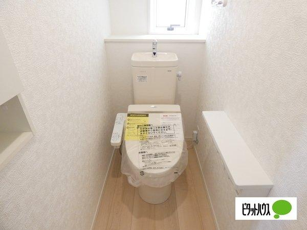 【3号棟】トイレ 温水洗浄・暖房便座機能付きです☆彡